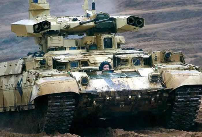 Русский «Терминатор» атакует «Абрамс» из засады
