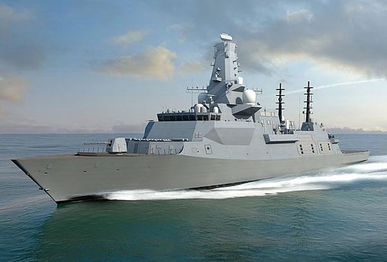 Началось строительство головного фрегата класса «Тип-26»