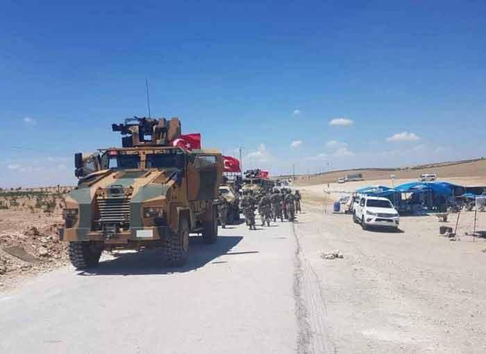 Турецкая армия наращивает присутствие к северу от Менбиджа