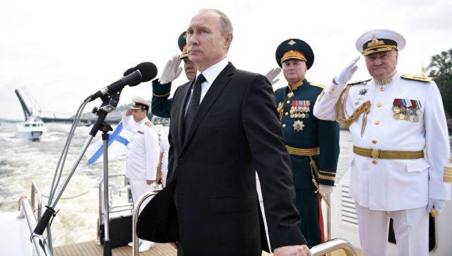 Главный парад ВМФ в Петербурге: гордость над вольной Невой