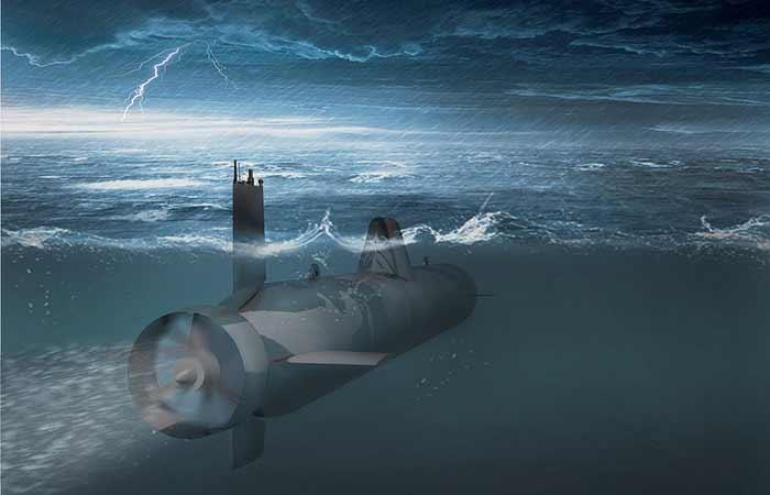 Для ВМФ РФ создается робот, способный имитировать любую подлодку